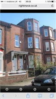 Large 4 bed 2 floored flat in South Shields